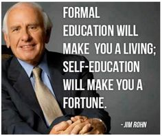 Great quote from Jim Rohn Wisdom Quotes, Quotes To Live By, Me Quotes, Motivational Quotes, Inspirational Quotes, Qoutes, Happy Quotes, Citations Business, Business Quotes