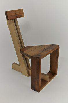 La chaise deBOIS..Pruche et Plywood à l'honneur