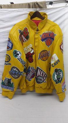 j.h. Jeff Hamilton Large Products Hot Sale Vintage Chicago Bulls Nba Jordan Era Leather Jacket