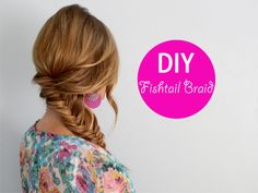 Fishtail Braid.  This girl has awesome ideas for everything from hair to crafts.