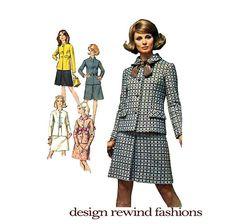 1960s Designer Fashions Misses Suits by DesignRewindFashions, $15.00