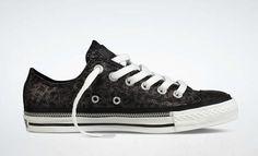 Converse: Zipper, Black Leopard