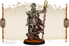 Painted by Angel Giraldez Thousand Sons, Figure Reference, Anubis, Egyptian, Board Games, Table Lamp, Miniatures, Pisces, Minis