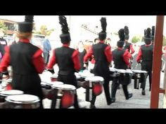 Goshen Percussion - Just a bit of pregame drumming - YouTube
