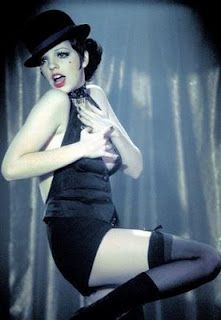 Liza Minnelli in Cabaret    Stunning.  Perfection.  Never fails to take my breath away.