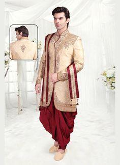 Sherwani Indostyle Bollywood Indian Mens Wedding Ethnic Dress Readymade Designer #Tanishifashion