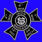 "Icon of the famed Civil War ""Iron Brigade"".  My 2X Great Uncle Gideon  Kennedy was a member with the 19th Indiana Vol. Regiment.  Tap twice on the icon, then tap on Co. A.  Scroll down to find his name under Privates and tap on the Iron Brigade icon to the left of his name."