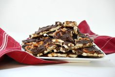 Pocket: Salted Caramel Pretzel Bark