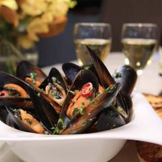Garlic+&+Chilli+Mussels