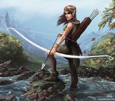Archer by thomaswievegg on DeviantArt