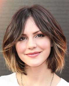 Dark Ombre Hair Color for Short