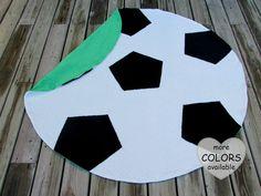 Soccer Baby Blanket Sports Nursery Decor Photo by LovePitterPatter
