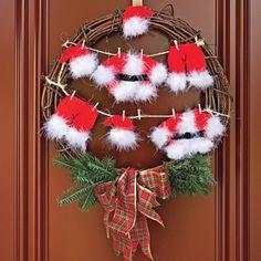 Faire une corde à linge du Père Noël - En étapes - Décoration et rénovation - Pratico Pratique
