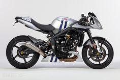 LSL a Triumph Street Triple custom motorcycle Street Fighter Motorcycle, Motorcycle Art, Motorcycle Design, Custom Motorcycles, Cars And Motorcycles, Triumph Street Triple, Sport Bikes, Concept Cars, Motorbikes