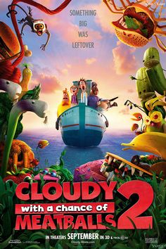 #CloudyWithAChanceOfMeatballs2 (2013) Movie Details !! See All the Details And #Wallpapers Here : http://www.badshaah.com/movie-details/Cloudy-with-a-Chance-of-Meatballs-2-(2013)-59.html