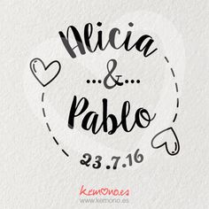 Sello Boda Corazones #sello #boda #corazones Wedding Logos, Monogram Wedding, Floral Embroidery Patterns, Wedding Ornament, All You Need Is Love, Graphic Design Inspiration, Wedding Planner, Initials, Wedding Decorations