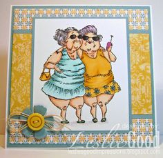 Mildred and Maude, image Stampingbella