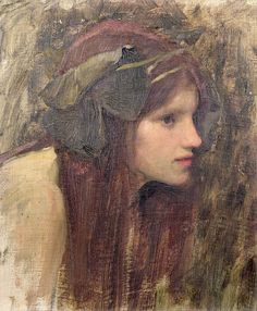 A Study for a Naiad, John William Waterhouse