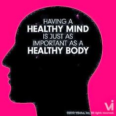 Having a healthy mind is just as important as a healthy body Healthy Mind And Body, Get Healthy, Healthy Habits, Kids Nutrition, Nutrition Tips, Health And Wellness, Health Fitness, Mental Health, Health Exercise