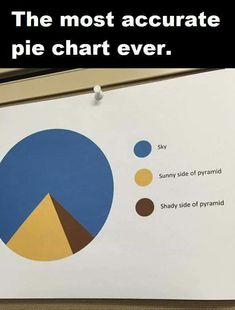 The Most Accurate Pie Chart Ever