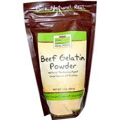 Buy Now Foods, Beef Gelatin, Powder, Real Food -Food supplements for sale in Online supplements shop megavitamins in Gold coast, Sydney & across Australia.