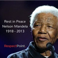 #RespectMandela a true fighter for human rights. If you'd like to write a message of Respect to Mandela please click through on the image above or click this link http://www.respectpoint.com/profile/nelson-mandela/