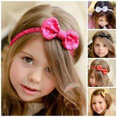 Baby Headbands,CHOOSE COLOR baby headband,Gold Baby Headband, Silver Headband, Red Baby Headband, Gold Bow Headband, Girls Headbands.