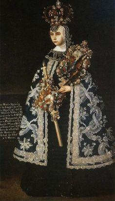 """José de Alcívar, """"Sor María Ignacia de la Sangre de Cristo"""", c. 1777"""