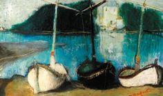 ნავები, ირაკლი ფარჯიანი Boats. Irakli Parjiani