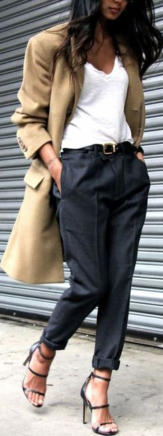 Great colours together; easy style but lovely smart/casual outfit.