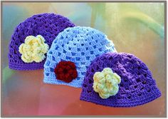 Let It Shine: Whip Up This Simple Crocheted Hat In a Couple Of Hours