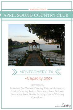 April Sound Country Club - North Houston Wedding Venue Guide // WoodlandsBride.com