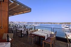 Vistas desde el restaurante Sa Llotja