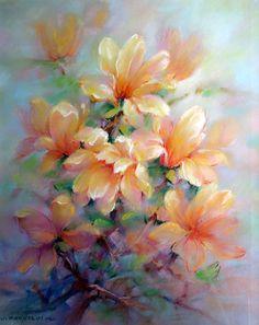 """Urszula Markiewicz (ur. 1953) """"Magnolia""""(duża)"""