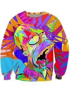 New Unisex Mock_up Theme Hipster Long Sleeves Sweatshirt Crew Neck Sweatshirts & Hoodies