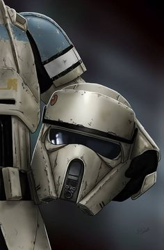 Star Wars - Rogue One Scarif Shore Trooper by Scott Zambelli