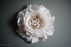 Giant Crepe Paper Peony Wall Flower Home Wedding Decor by DECORBYTORIA on Etsy https://www.etsy.com/listing/199975681/giant-crepe-paper-peony-wall-flower-home