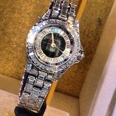 Chanel diamond watch - hello beauty be mine please :)))