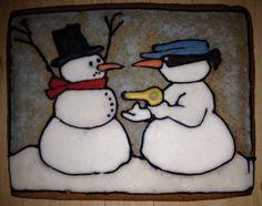 criminal snowman
