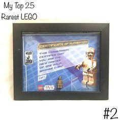 Lego War, Lego Star Wars, Authenticity, Certificate, Bronze, Stars, Instagram, Star