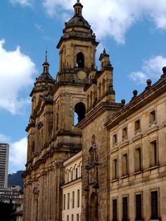 La Catedral Primada de Bogotá,-foto-de-David-Gómez-S., via Flickr.