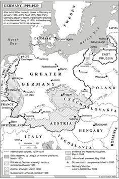 "your-instructions-from-moscow:  Map 1: ""Germany, 1919–1939""Martin Gilbert, ed. The Routledge Atlas of the Second World War, 2nd edition (2009)"
