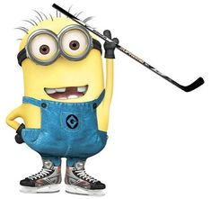 Hockey minion!!!!