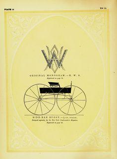 Original Monogram, H.W.S. Side-bar Buggy.,  Image number:SIL-029-16-11-0084