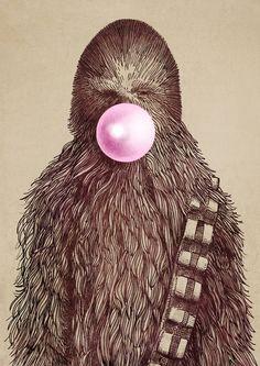 #chewbacca #starwars #wookie