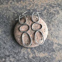 Sterling silver dangle earrings | Etsy Sterling Silver Dangle Earrings, Absolutely Gorgeous, Crochet Earrings, Dangles, Pairs, Jewellery, Detail, Gifts, Handmade