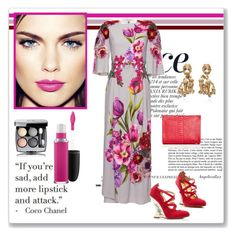"""Gorgeous Spring"" by angelicallxx ❤ liked on Polyvore featuring beauty, Anja, Dolce&Gabbana, Marchesa, Hunting Season, MAC Cosmetics, Chanel, marchesa, mac and dolcegabbana"