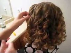 Curlformer Tutorial #2 - Results from Curlformers from the gorgeous Babes In Hairland