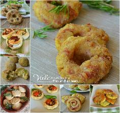 Raccolta di ricette sfiziose per aperitivi e antipasti Antipasto, Healthy Cooking, Healthy Snacks, Sweet Buns, No Salt Recipes, Creative Food, Street Food, Italian Recipes, Food To Make