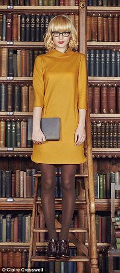Max & Co mustard dress